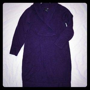 H&M sweater dress, sz S